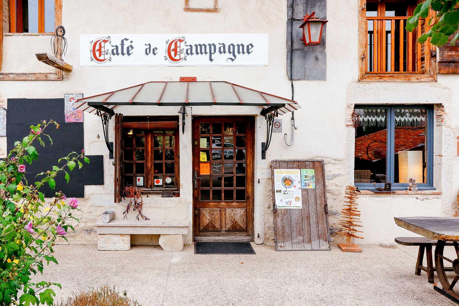 Café de Campagne Restaurant Péronnas